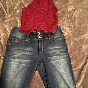 YMI wanna betta butt jeans